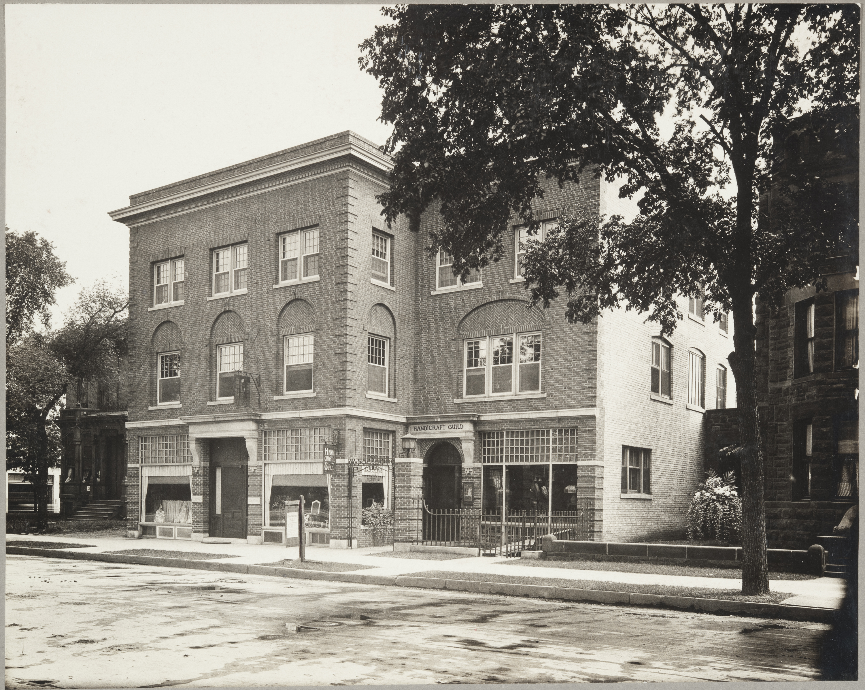 Handicraft Guild building, photo: Minnesota Historical Society
