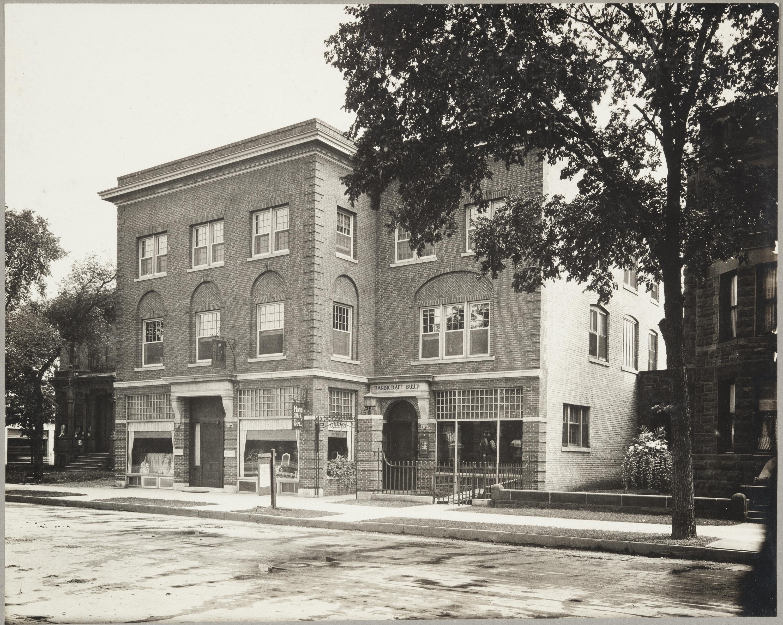Handicraft Guild building, photo: Minnesota Historical Society
