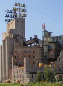 Mill City Museum complex by Meyer, Scherer, and Rockcastle. Photo Bill Olexy